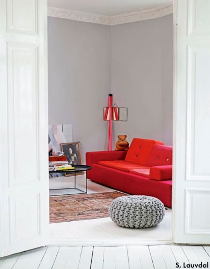 le boom des poufs elle d coration. Black Bedroom Furniture Sets. Home Design Ideas