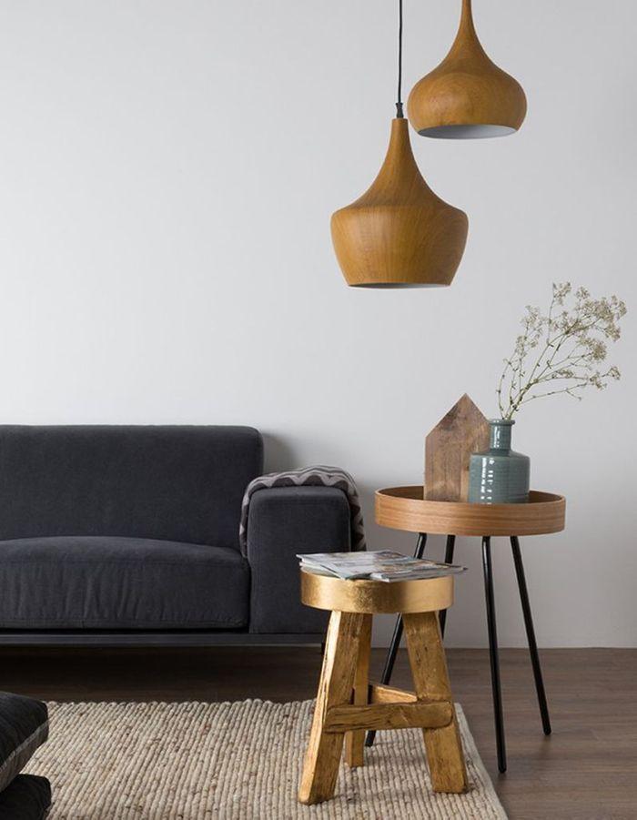 Suspension design en bois