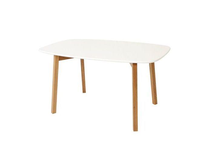 Table A Manger En Chene Blanc Huile