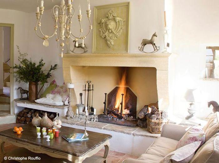 Home Foyer De La Côte Corcelles : Nos plus belles cheminées elle décoration
