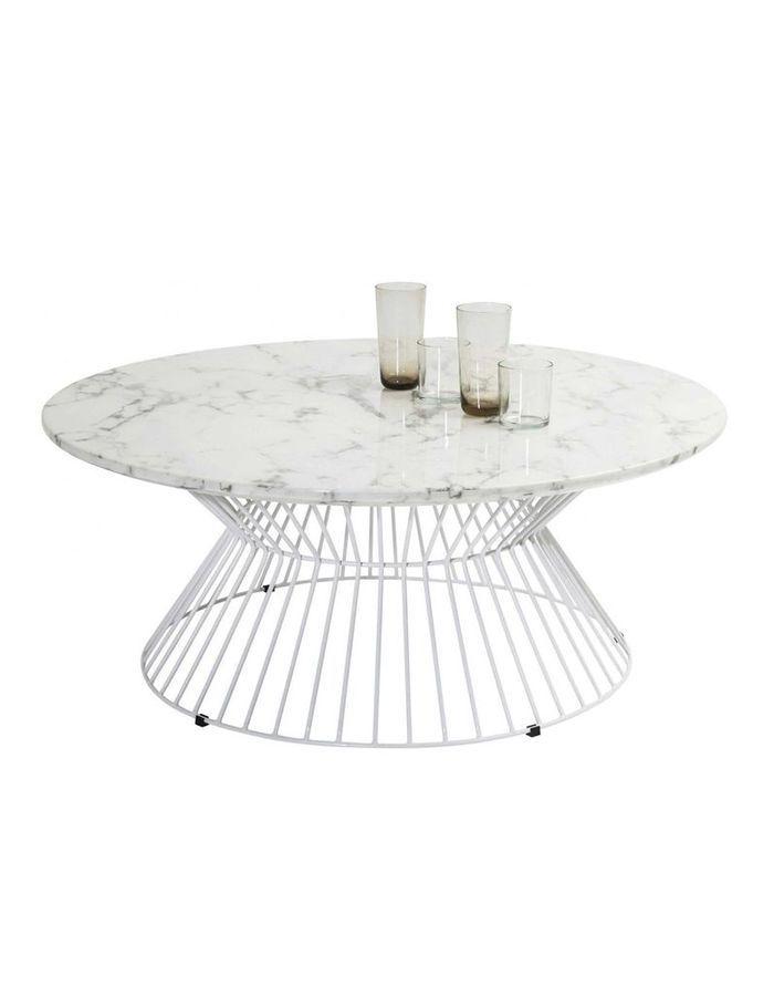 Table basse en marbre Kare Design