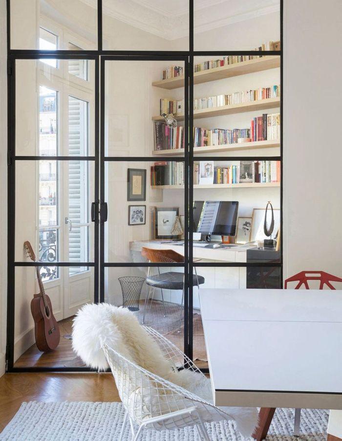 On vous prouve que la porte vitr e est la cloison for Porte interieure transparente