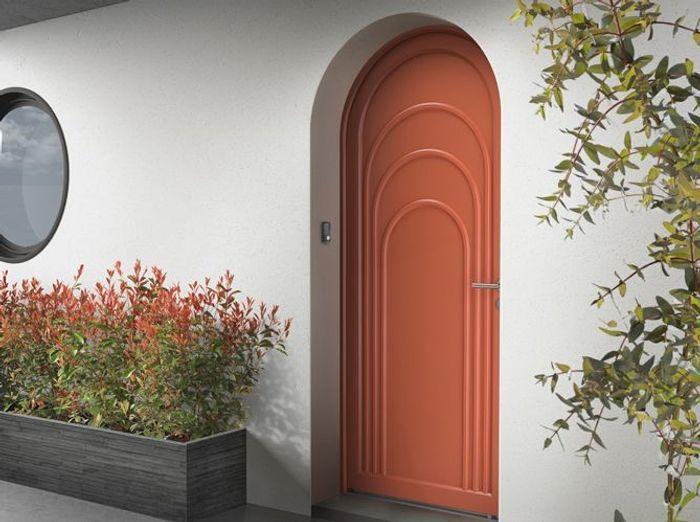 Des portes d 39 entr e sympas elle d coration - Oeil pour porte d entree ...