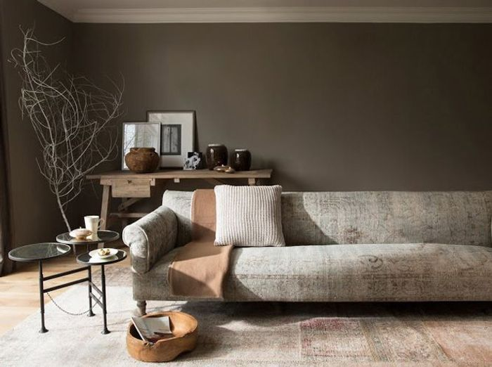 15 exemples pour accorder le taupe sa d co elle d coration. Black Bedroom Furniture Sets. Home Design Ideas