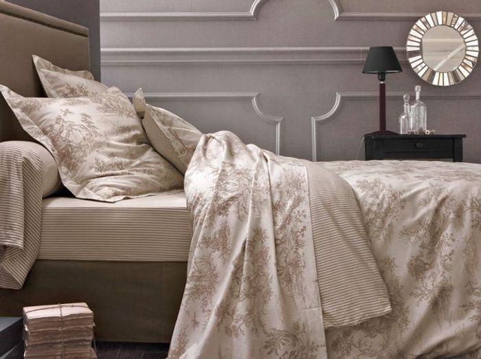 15 exemples pour accorder le taupe sa d co elle d coration - Couleur taupe chambre ...