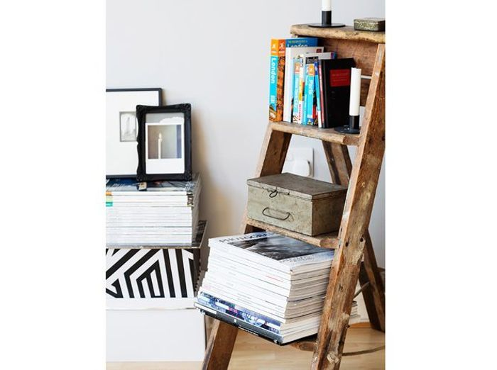 10 mani res sympas de ranger ses livres et ses magazines elle d coration. Black Bedroom Furniture Sets. Home Design Ideas
