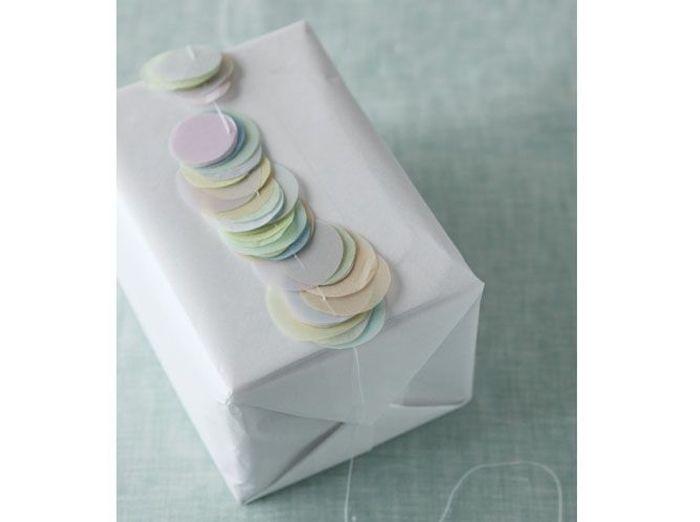 Un paquet cadeau romantique