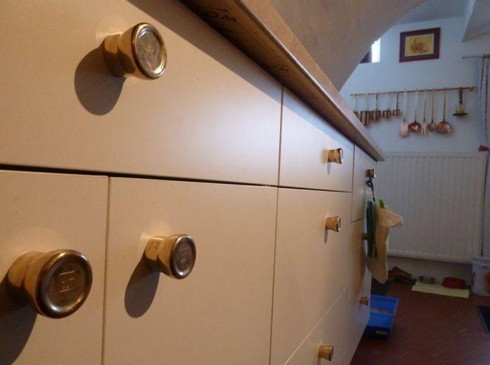 Maison cuivre cuisine poignee cuivre