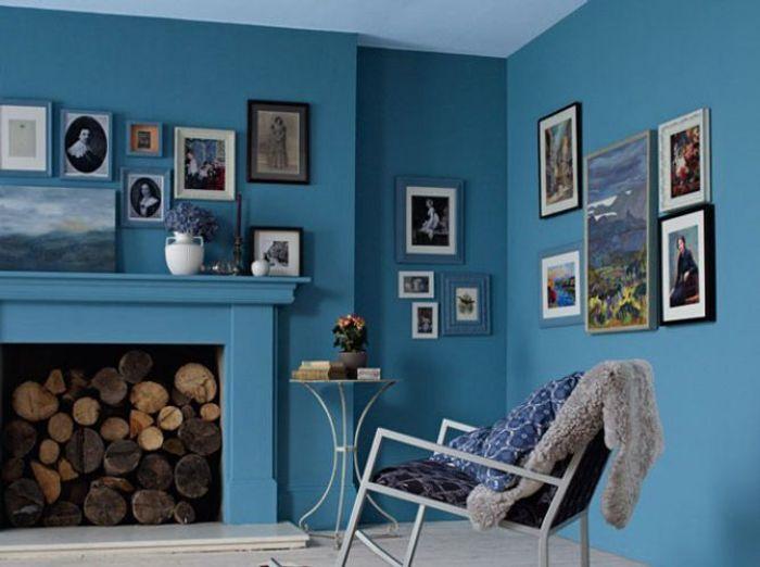 Couleur Mur Salon Tendance - Conceptions Architecturales - Erenor.com