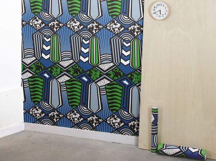 l inspiration du jour les papiers peints papier tigre. Black Bedroom Furniture Sets. Home Design Ideas