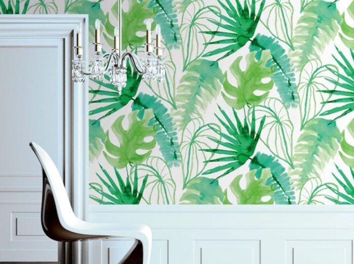 papier peint les tendances incontournables de 2015 elle d coration. Black Bedroom Furniture Sets. Home Design Ideas
