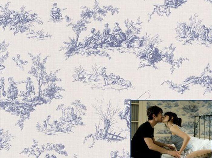 Copiez le papier peint de votre film pr f r elle d coration for Papier peint romantique