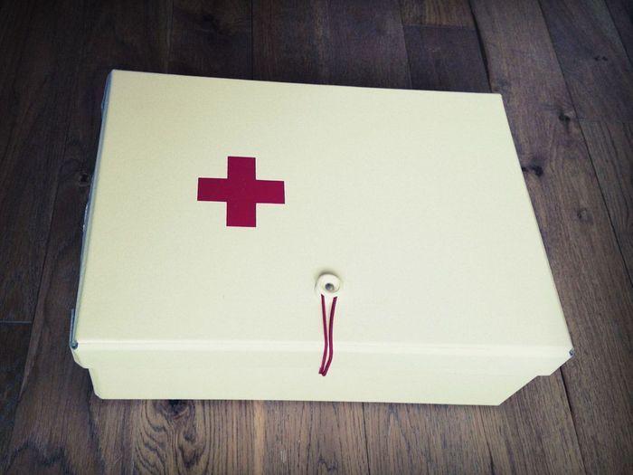 Les médicaments dans une belle boîte