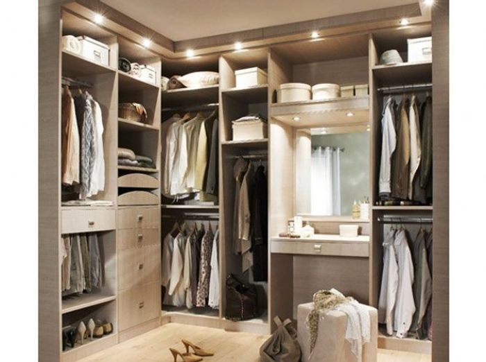 Idees amenagement dressing for Idee dressing entree