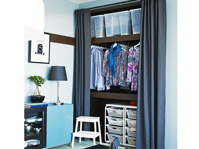 am nager son dressing faites le plein d id es elle. Black Bedroom Furniture Sets. Home Design Ideas