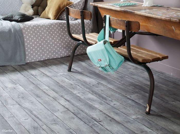 Gerflor parquet fabrik grey