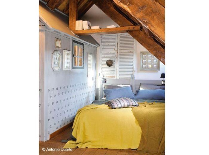 Comment peindre une chambre sous pente - Comment peindre une chambre pour l agrandir ...