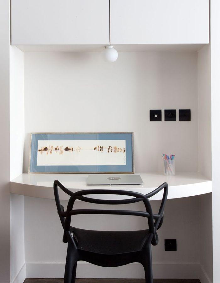 avant apr s un appartement sombre transform en loft clatant elle d coration. Black Bedroom Furniture Sets. Home Design Ideas