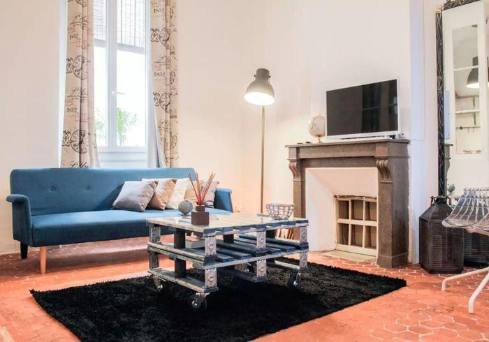 Appartement esprit récup à Marseille