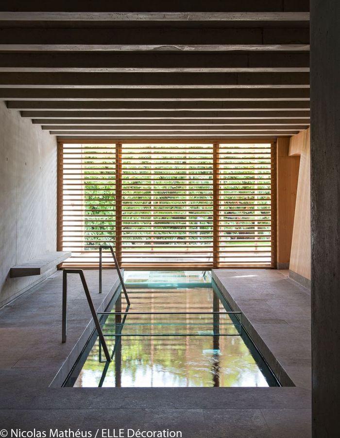 La piscine de l'Hôtel des Berges