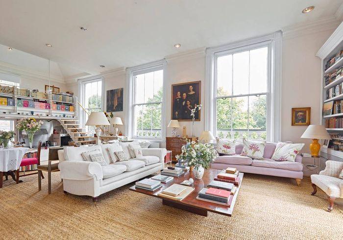 Penthouse typiquement anglais à Londres