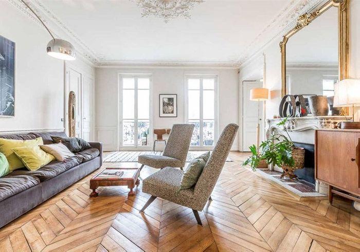 Appartement type haussmannien à Berlin