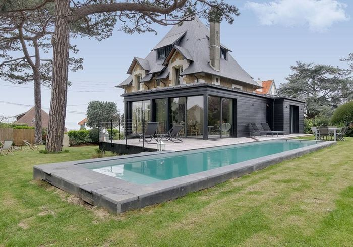 Villa entre neuf et ancien à Deauville