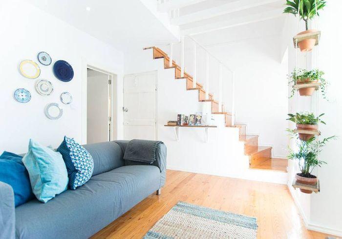 Appartement blanc à Lisbonne