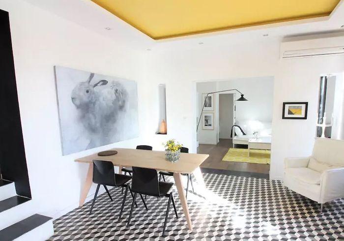 Appartement dans une villa avec vue sur mer près de Nice