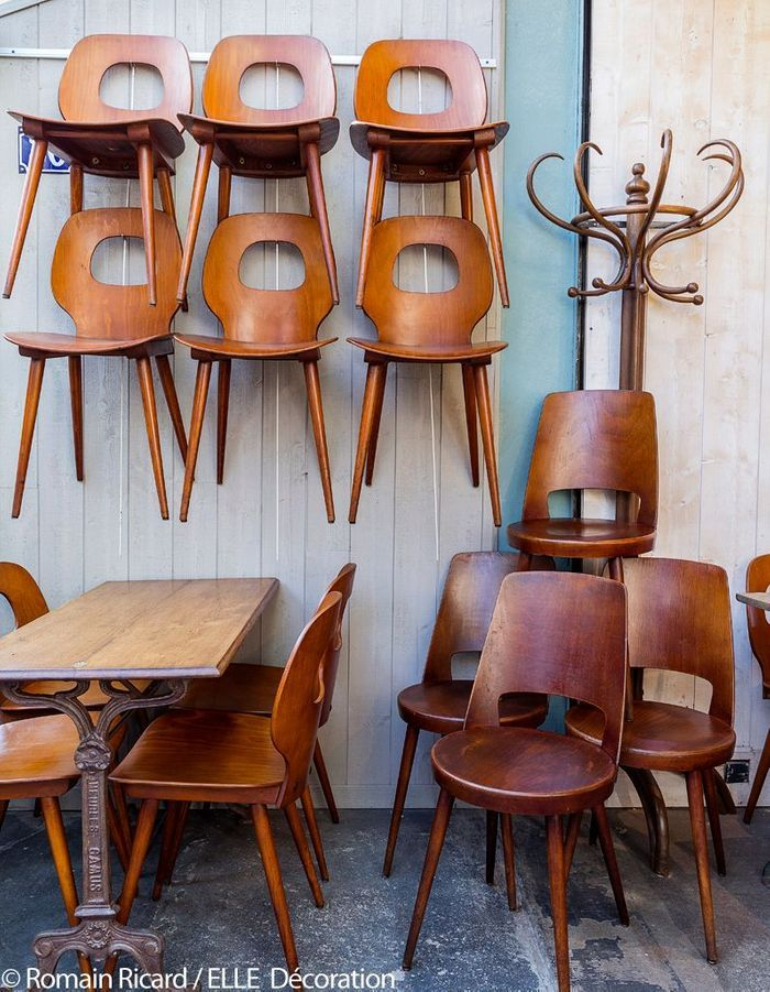 Email & Puces - Mobilier de bistrot