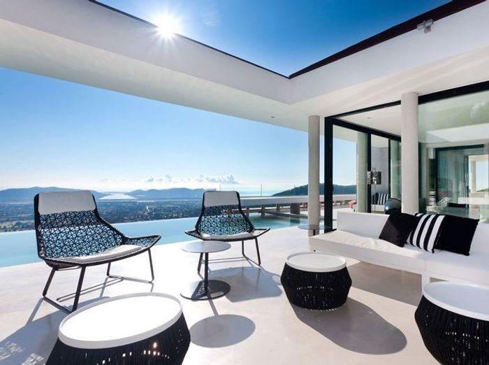 Les plus belles villas pour partir elle d coration - Villa de vacances exotiques island views ...