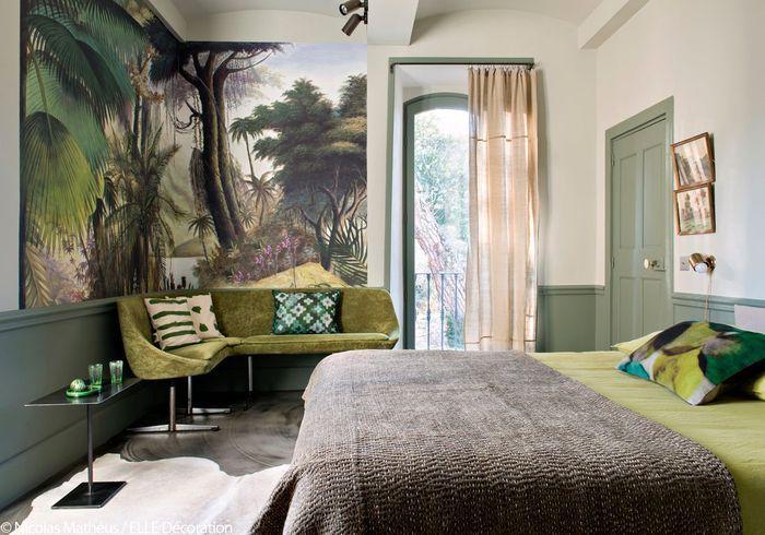 une maison d 39 h tes 100 home made en ard che elle d coration. Black Bedroom Furniture Sets. Home Design Ideas
