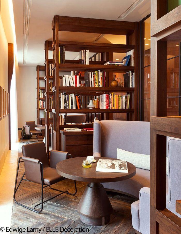 Bibliothèque de la Villa La Coste