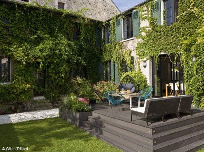 Aimeriez vous avoir une maison avec jardin elle d coration - Maison de jardin design ...