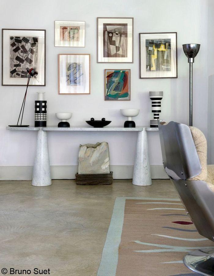 Salon Brut Du0027une Maison De Provence