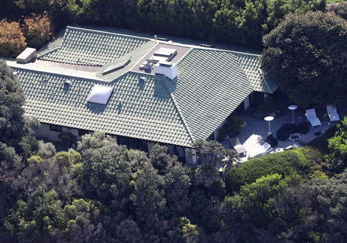 La villa d'Angelina Jolie (Malibu, USA)