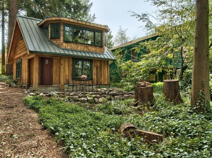 Maison en bois seattle