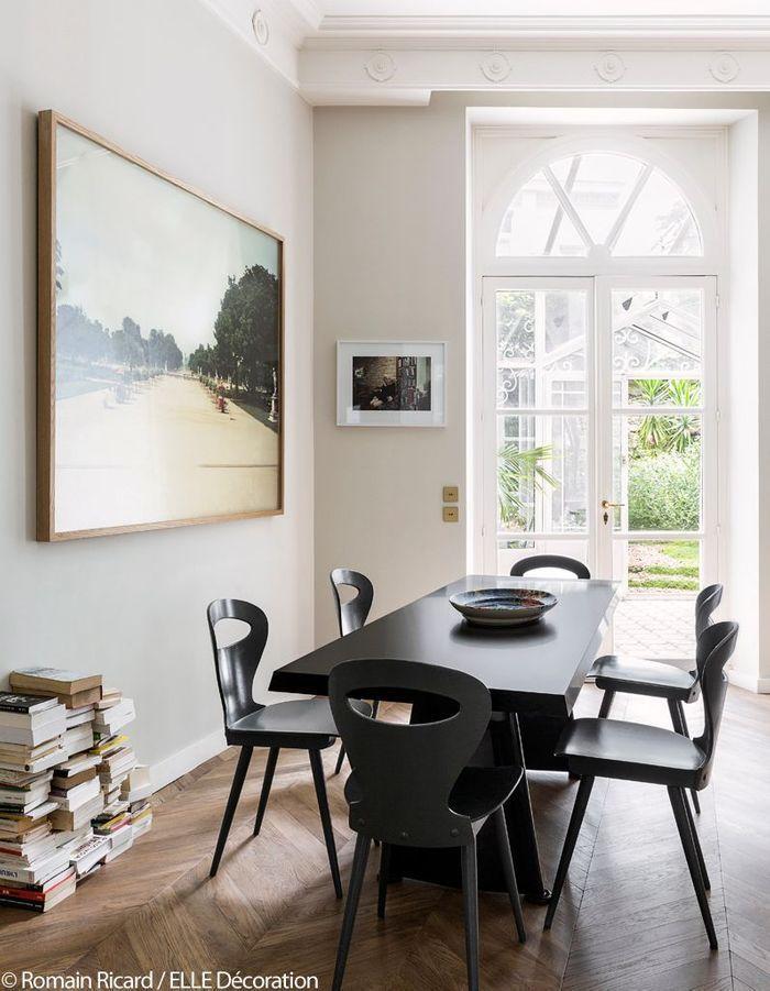 Un appartement romantique entre ville et campagne elle - Salle manger scandinave un decor elegant et pratique ...
