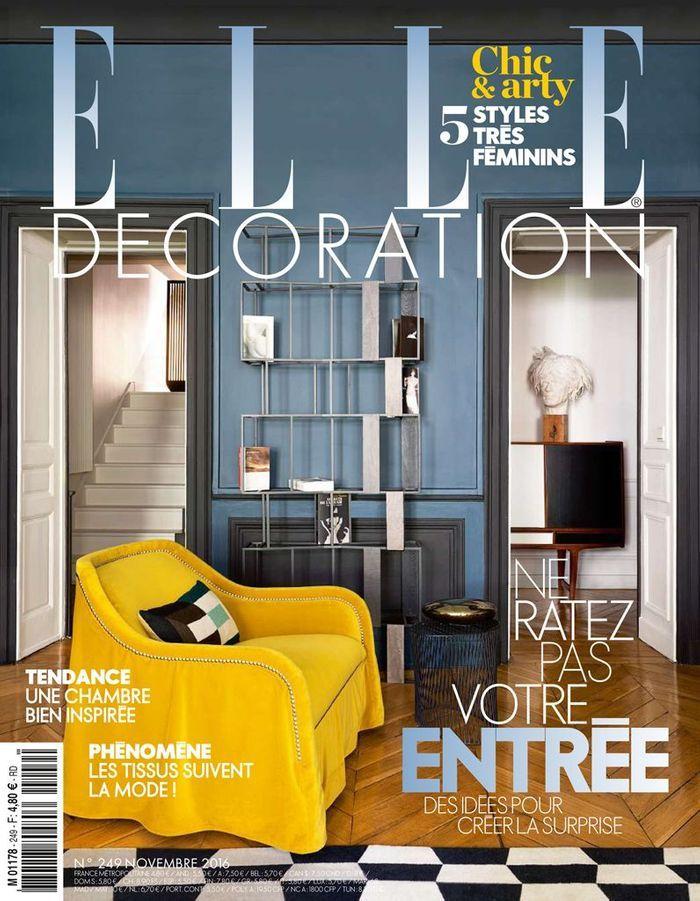 Un appartement somptueux comme une galerie elle d coration for Elle decoration maison