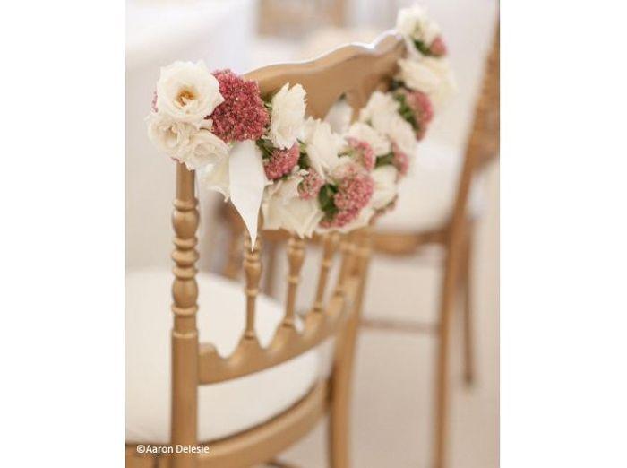 Fleurs mariage salle style me pretty