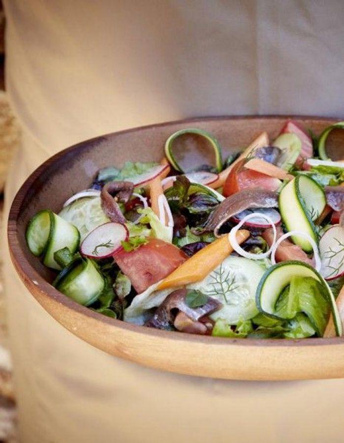 Recette minceur rapide salade du jardin nos id es de - Cuisine minceur rapide ...