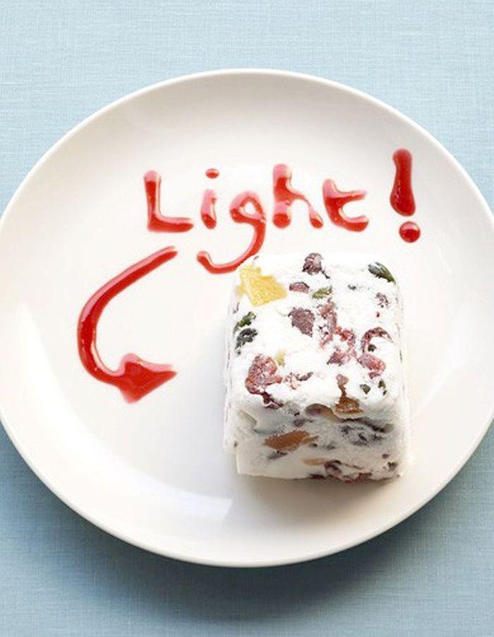 semifreddo de fromage blanc nos plus belles recettes aux fraises elle table. Black Bedroom Furniture Sets. Home Design Ideas
