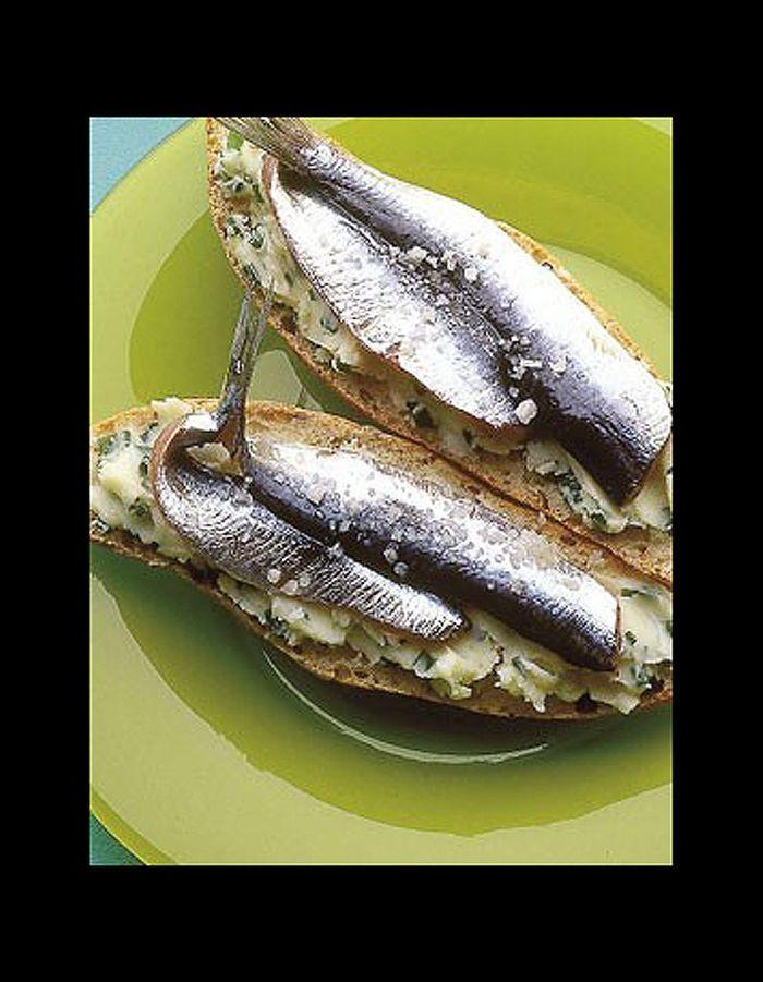 Tartines de sardines 56 recettes chrono pour le retour - Cuisiner des filets de sardines fraiches ...
