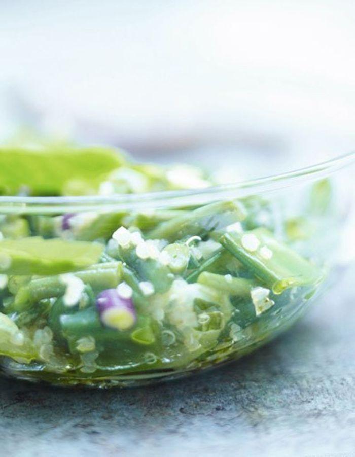 taboul de quinoa tr s vert 50 recettes pour se mettre au vert elle table. Black Bedroom Furniture Sets. Home Design Ideas