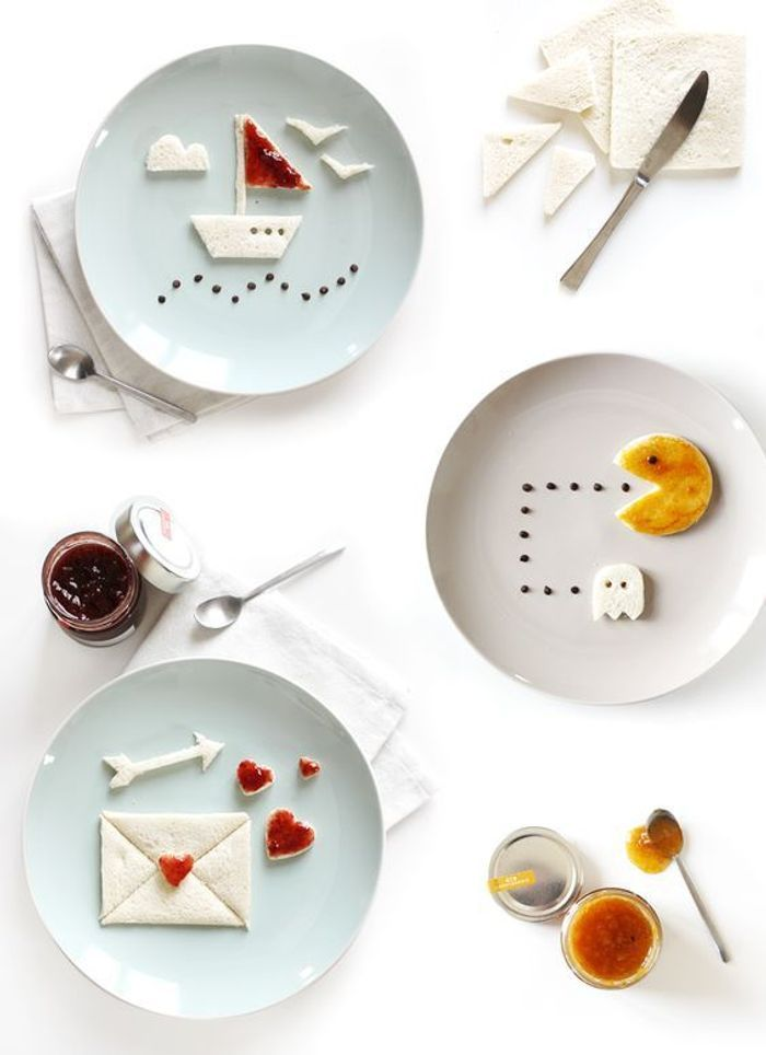 Food art facile bluffez avec du food art elle table for Sur la table food scale