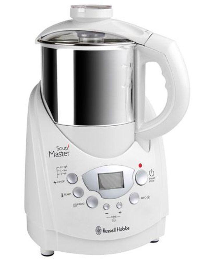 Soup master de russell hobbs je veux un robot chauffant - Robot pour faire la soupe ...