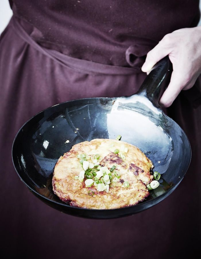 Omelette de navet séché