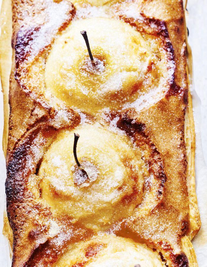 Tarte aux pommes fondantes et crème d'amandes