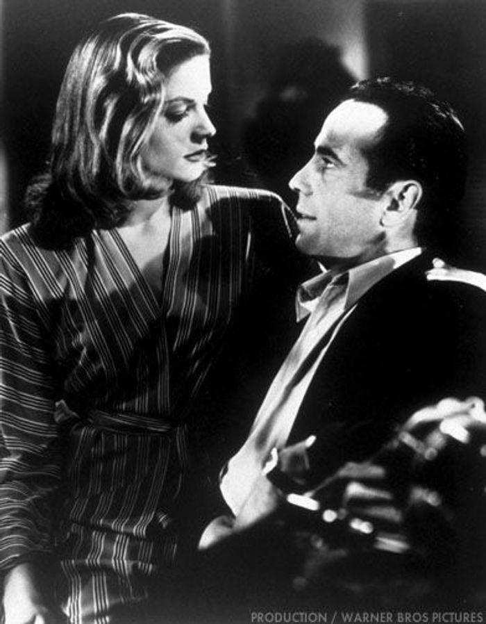 Humphrey Bogart et Lauren Bacall dans « Le Port de l'angoisse »