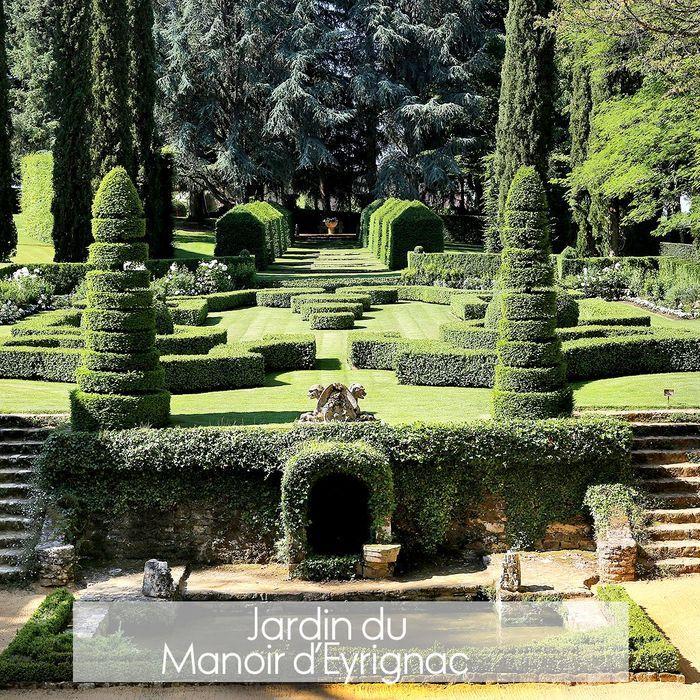 Jardins fran ais du manoir d eyrignac o sont les plus for Jardins de france a visiter